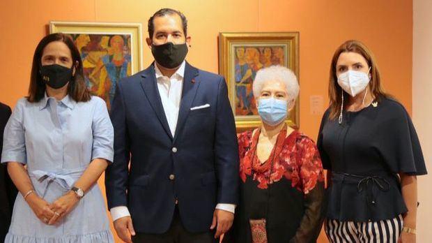 Maribel Bellapart, José Manuel Romero, Myrna Guerrero Villalona y Mariajosé Turull de Roig.