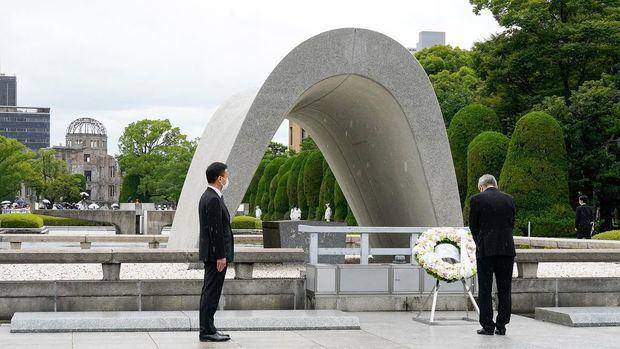 Presidente del COI rinde homenaje a Hiroshima con la entrada en vigor de la tregua olímpica