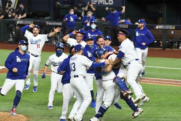 ¡Dodgers son campeones de la Serie Mundial! Seager el Más Valioso.
