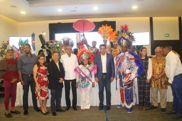ADN anuncia el carnaval Santo Domingo para el domingo 24 de febrero.