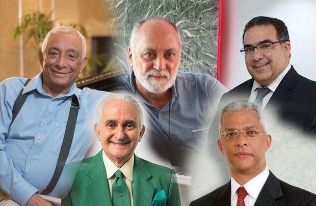 Rafael Solano, Esteban Prieto, Raimy Mejía, Ramón Cordero y José Paúl Rodríguez.