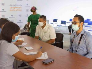 Más de 30,200 dosis son aplicadas en centros de vacunación Banreservas