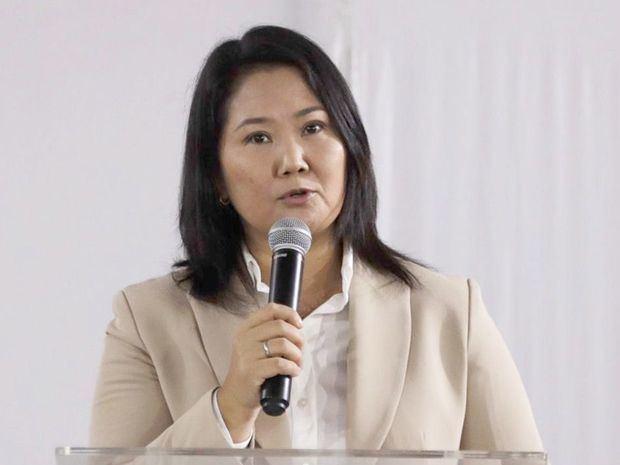 Keiko Fujimori anuncia que reconocerá los resultados de las elecciones peruanas
