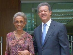 Fallece la madre del expresidente Leonel Fernández.