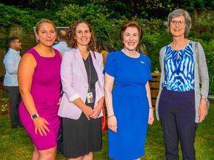 Molly Fellenbaum, Shannon Rooney, Sonia Guzmán y Nan Fife.