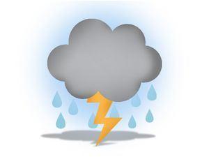 Onda tropical y vaguada, provocarán lluvias con tormentas eléctricas este fin de semana en algunas regiones del país
