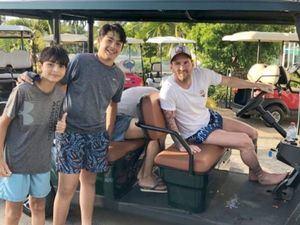 Lionel Messi vacaciona con su familia en el exclusivo Casa de Campo.