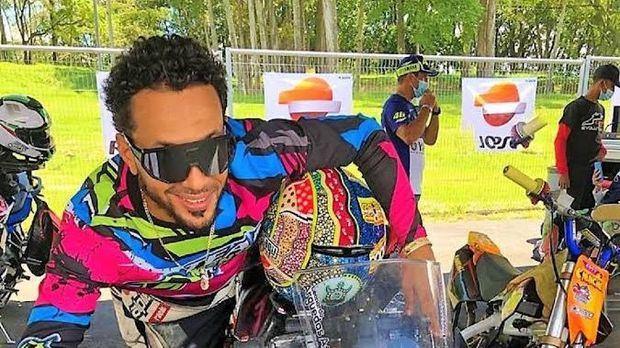 Piloto dominicano Idelfonso Ortiz, triunfa en motovelocidad panamericana de Costa Rica