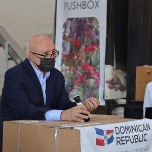 Domenico Malcangio, creador del empaque para café PUSHBOX.