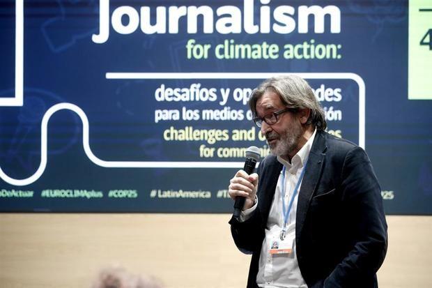 Arturo Larena, de EFE, entre los 100 latinos influyentes en acción climática