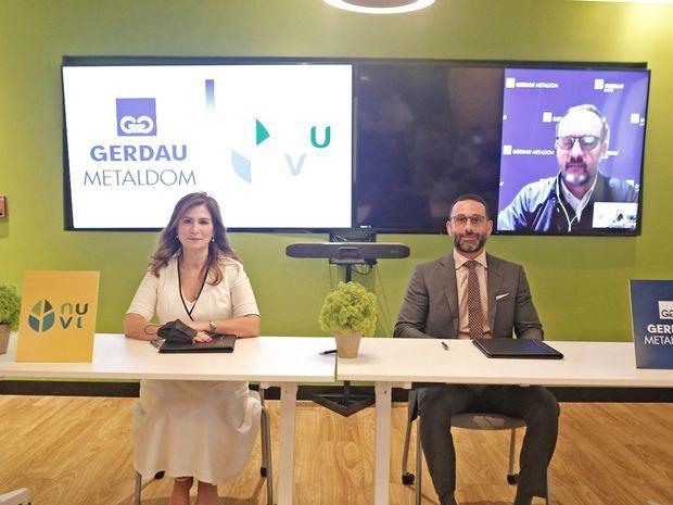 Gerdau Metaldom y NUVI firman su compromiso con la sostenibilidad