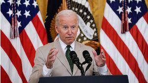 El presidente de Estados Unidos, Joe Biden, pronuncia comentarios sobre el informe de empleos de julio en el East Room de la Casa Blanca en Washington.