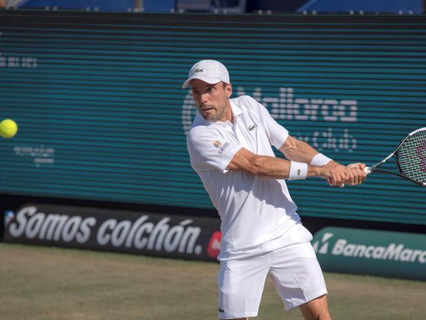 El tenista español Roberto Bautista.