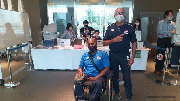 Avanzada RD llega a Tokio para los Juegos Paralímpicos