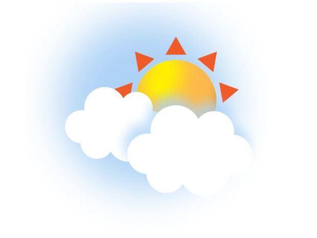 Pocas lluvias para el día de hoy. Temperaturas calurosas