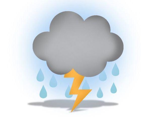 Lluvias en el noreste y centro del país. Caluroso en la tarde con aguaceros y tronadas