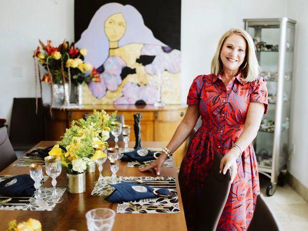 Sarita Mishaan lleva su arte a los hogares