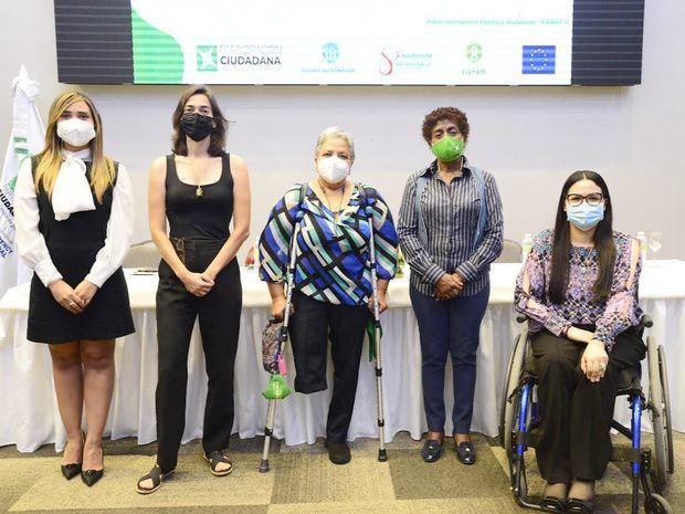 Participación Ciudadana realiza mesa de diálogo sobre inclusión en la Administración Pública