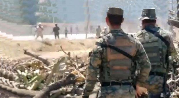 Dos haitianos heridos en incidente en frontera