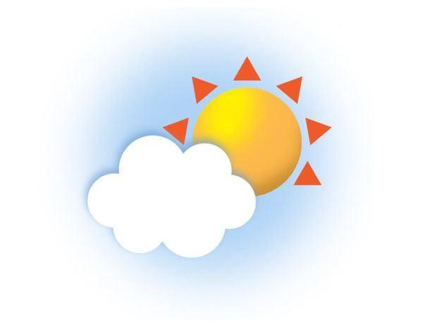 Temperatura calurosa. Pocas lluvias para el día de hoy