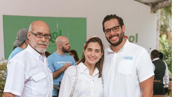 Víctor Romeo, Annabelle Pujols y Víctor Gómez.