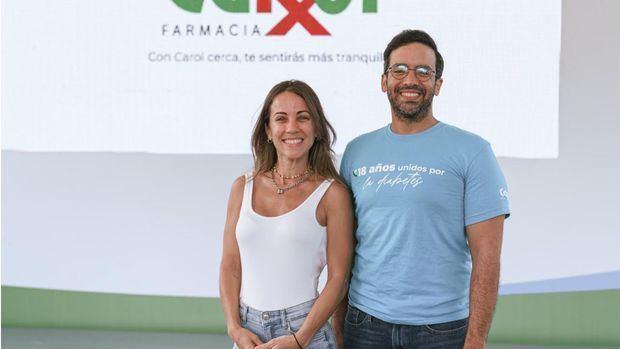 Karina Larrauri y Julio Curiel.