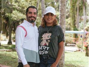 Angel Andujar y Lissett Ventura.
