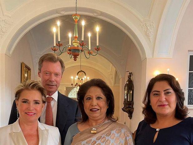 La Gran Duquesa de Luxemburgo, campeona en la lucha contra la violencia sexual en conflicto