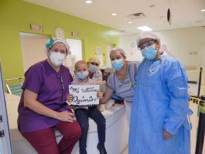 Paciente de Unidad de Hemato-Oncología del Hospital Hugo Mendoza.