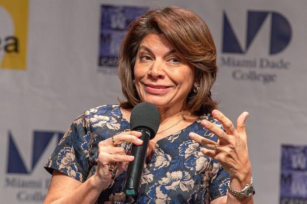 Fotografía de archivo de la expresidenta costarricense Laura Chinchilla (2010-2014).