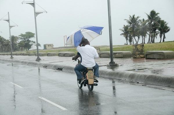 Escasas precipitaciones, sistema anticiclónico domina las condiciones del tiempo