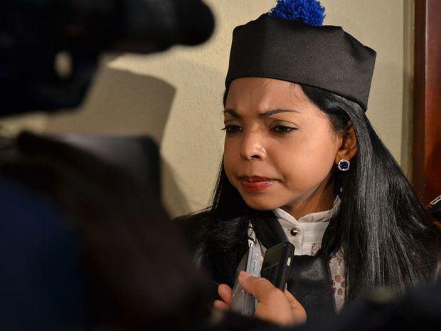 La procuradora adjunta Yeni Berenice Reynoso.