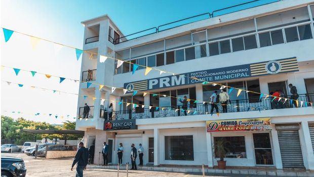 Fachada del PRM, Comite municipal.