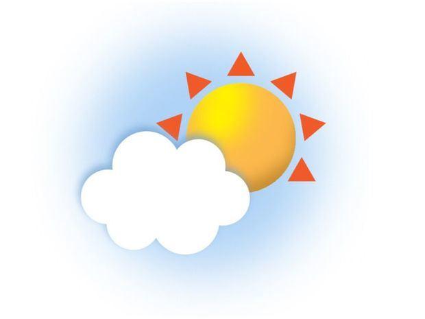Temperatura calurosa. Débil vaguada generará aguaceros principalmente en horas de la tarde