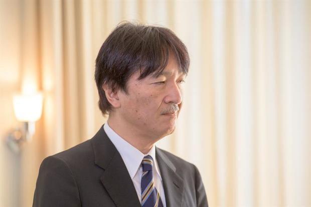 El Príncipe Heredero de Japón, Akishino.