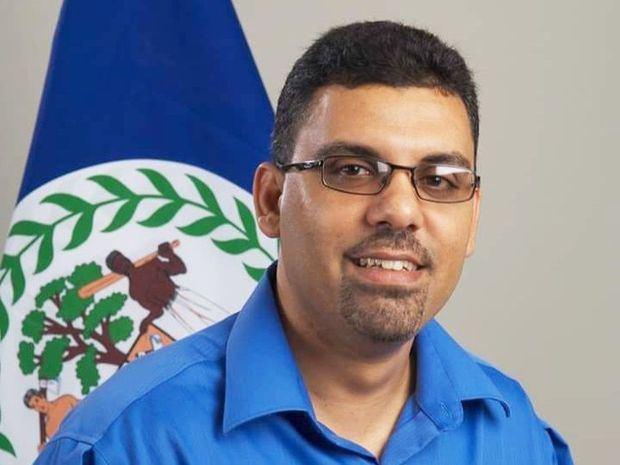 El ministro de Turismo y Relaciones con la Diáspora de Belice, Anthony Mahler.