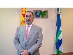 El presidente ejecutivo de la CAF, el colombiano Sergio Díaz-Granados, en una fotografía de archivo.