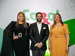 Massiel Reyes, Julio R. Curiel y Joan Patricia Landolfi.