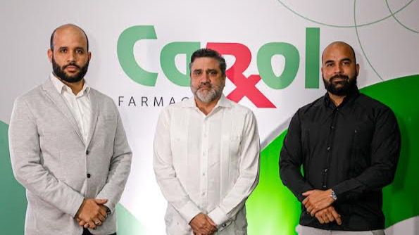 Braulio Pichardo, Vinicio Curiel y Carlos Gómez.