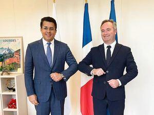 David Collado y Jean-Baptiste Leomoyne.