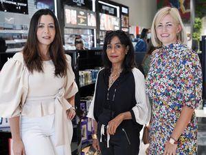 Yermis Peña,Jenny Alfonso e Indira de sangles.