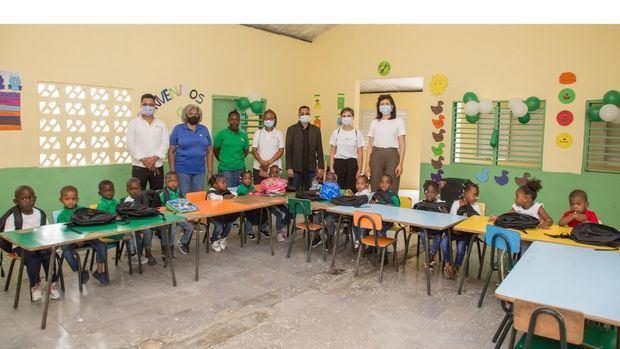 Vuelve la alegría a las zonas cañeras por la apertura del nuevo año escolar 2021-2022.