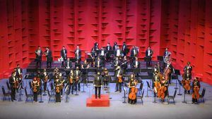 Orquesta  Sinfónica del Teatro Nacional.