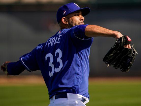David Price anuncia que no jugará con los Dodgers esta temporada.