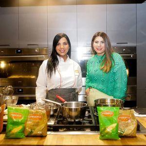 Chef Tita y Purissa Veras.