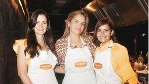 Cristina Báez, Karla Leshhörn y Carla Chalas.