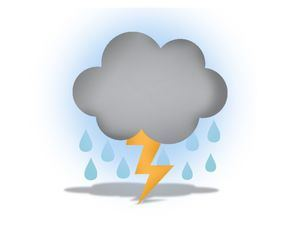 Aguaceros, tronadas y ráfagasde viento en varios puntos del país por Onda Tropical.
