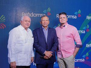 Dr. Luis Esmurdoc, doctor Leonardo Aguilera y Luis Esmurdoc hijo.