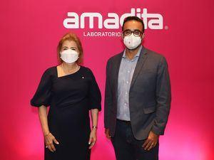Dra Patricia Gonzalez Pittaluga y Dr. Miguel Mantilla.