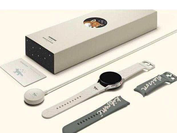 Samsung y Maison Kitsuné presentan la edición especial de Galaxy Watch4 y Buds2